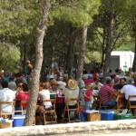 Dinar de germanor a l'ermita de Sant Cristòfol